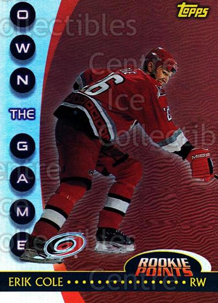2002-03 Topps Own The Game #14 Erik Cole<br/>10 In Stock - $2.00 each - <a href=https://centericecollectibles.foxycart.com/cart?name=2002-03%20Topps%20Own%20The%20Game%20%2314%20Erik%20Cole...&quantity_max=10&price=$2.00&code=108111 class=foxycart> Buy it now! </a>