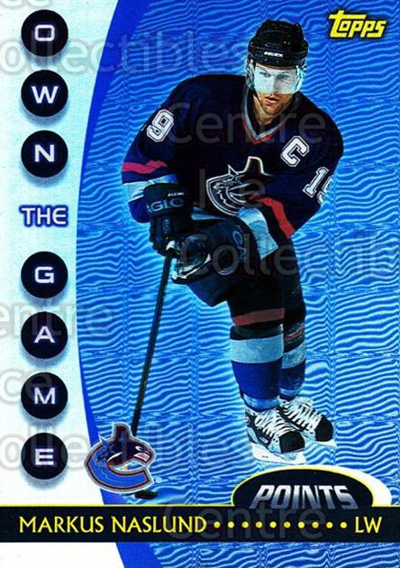 2002-03 Topps Own The Game #2 Markus Naslund<br/>11 In Stock - $2.00 each - <a href=https://centericecollectibles.foxycart.com/cart?name=2002-03%20Topps%20Own%20The%20Game%20%232%20Markus%20Naslund...&quantity_max=11&price=$2.00&code=108115 class=foxycart> Buy it now! </a>