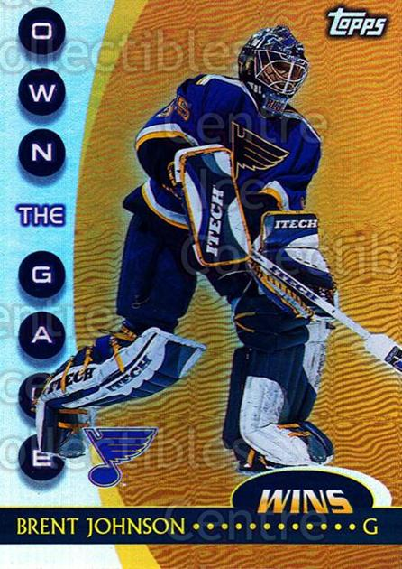 2002-03 Topps Own The Game #20 Brent Johnson<br/>7 In Stock - $2.00 each - <a href=https://centericecollectibles.foxycart.com/cart?name=2002-03%20Topps%20Own%20The%20Game%20%2320%20Brent%20Johnson...&quantity_max=7&price=$2.00&code=108116 class=foxycart> Buy it now! </a>