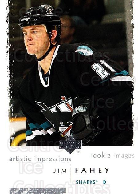 2002-03 UD Artistic Impressions #112 Jim Fahey<br/>2 In Stock - $3.00 each - <a href=https://centericecollectibles.foxycart.com/cart?name=2002-03%20UD%20Artistic%20Impressions%20%23112%20Jim%20Fahey...&quantity_max=2&price=$3.00&code=108411 class=foxycart> Buy it now! </a>