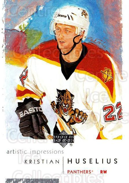 2002-03 UD Artistic Impressions #41 Kristian Huselius<br/>7 In Stock - $1.00 each - <a href=https://centericecollectibles.foxycart.com/cart?name=2002-03%20UD%20Artistic%20Impressions%20%2341%20Kristian%20Huseli...&quantity_max=7&price=$1.00&code=108462 class=foxycart> Buy it now! </a>