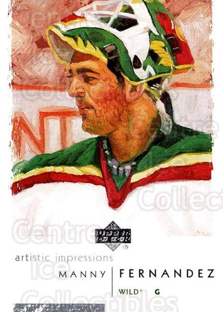 2002-03 UD Artistic Impressions #45 Manny Fernandez<br/>4 In Stock - $1.00 each - <a href=https://centericecollectibles.foxycart.com/cart?name=2002-03%20UD%20Artistic%20Impressions%20%2345%20Manny%20Fernandez...&quantity_max=4&price=$1.00&code=108466 class=foxycart> Buy it now! </a>