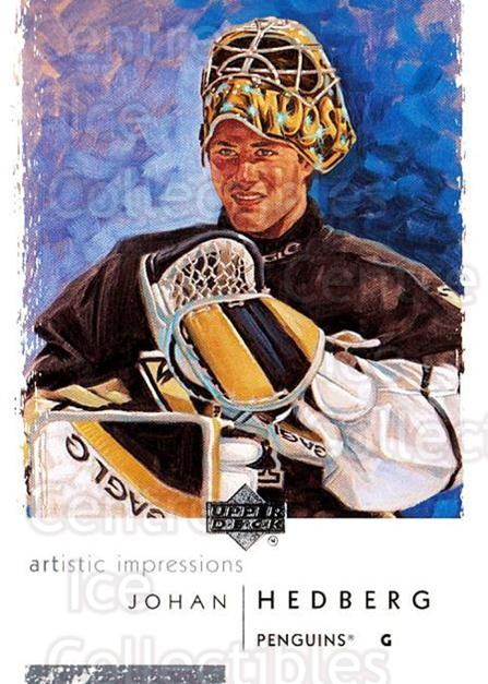 2002-03 UD Artistic Impressions #71 Johan Hedberg<br/>3 In Stock - $1.00 each - <a href=https://centericecollectibles.foxycart.com/cart?name=2002-03%20UD%20Artistic%20Impressions%20%2371%20Johan%20Hedberg...&quantity_max=3&price=$1.00&code=108494 class=foxycart> Buy it now! </a>