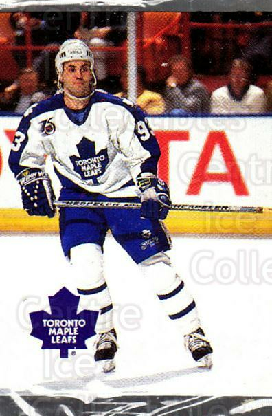 1992-93 Humpty Dumpty II #7 Doug Gilmour<br/>3 In Stock - $2.00 each - <a href=https://centericecollectibles.foxycart.com/cart?name=1992-93%20Humpty%20Dumpty%20II%20%237%20Doug%20Gilmour...&quantity_max=3&price=$2.00&code=10890 class=foxycart> Buy it now! </a>
