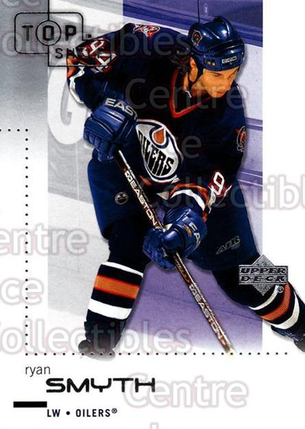 2002-03 UD Top Shelf #33 Ryan Smyth<br/>6 In Stock - $1.00 each - <a href=https://centericecollectibles.foxycart.com/cart?name=2002-03%20UD%20Top%20Shelf%20%2333%20Ryan%20Smyth...&quantity_max=6&price=$1.00&code=109027 class=foxycart> Buy it now! </a>