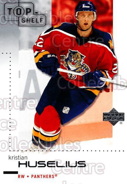 2002-03 UD Top Shelf #37 Kristian Huselius<br/>6 In Stock - $1.00 each - <a href=https://centericecollectibles.foxycart.com/cart?name=2002-03%20UD%20Top%20Shelf%20%2337%20Kristian%20Huseli...&quantity_max=6&price=$1.00&code=109031 class=foxycart> Buy it now! </a>