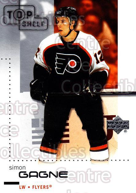 2002-03 UD Top Shelf #66 Simon Gagne<br/>5 In Stock - $1.00 each - <a href=https://centericecollectibles.foxycart.com/cart?name=2002-03%20UD%20Top%20Shelf%20%2366%20Simon%20Gagne...&quantity_max=5&price=$1.00&code=109062 class=foxycart> Buy it now! </a>