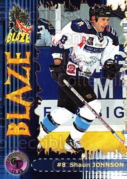2002-03 UK British Elite Coventry Blaze #10 Shaun Johnson<br/>6 In Stock - $2.00 each - <a href=https://centericecollectibles.foxycart.com/cart?name=2002-03%20UK%20British%20Elite%20Coventry%20Blaze%20%2310%20Shaun%20Johnson...&price=$2.00&code=109095 class=foxycart> Buy it now! </a>