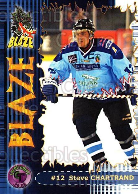 2002-03 UK British Elite Coventry Blaze #11 Steve Chartrand<br/>5 In Stock - $2.00 each - <a href=https://centericecollectibles.foxycart.com/cart?name=2002-03%20UK%20British%20Elite%20Coventry%20Blaze%20%2311%20Steve%20Chartrand...&price=$2.00&code=109096 class=foxycart> Buy it now! </a>