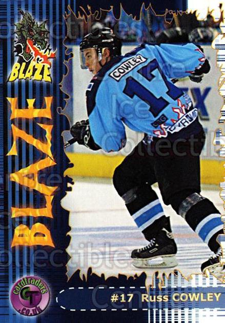 2002-03 UK British Elite Coventry Blaze #13 Russ Cowley<br/>5 In Stock - $2.00 each - <a href=https://centericecollectibles.foxycart.com/cart?name=2002-03%20UK%20British%20Elite%20Coventry%20Blaze%20%2313%20Russ%20Cowley...&price=$2.00&code=109098 class=foxycart> Buy it now! </a>