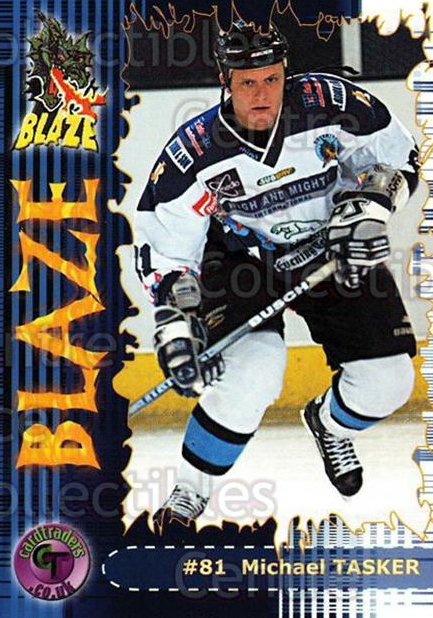 2002-03 UK British Elite Coventry Blaze #20 Michael Tasker<br/>5 In Stock - $2.00 each - <a href=https://centericecollectibles.foxycart.com/cart?name=2002-03%20UK%20British%20Elite%20Coventry%20Blaze%20%2320%20Michael%20Tasker...&price=$2.00&code=109106 class=foxycart> Buy it now! </a>