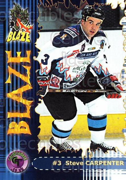 2002-03 UK British Elite Coventry Blaze #3 Steve Carpenter<br/>5 In Stock - $2.00 each - <a href=https://centericecollectibles.foxycart.com/cart?name=2002-03%20UK%20British%20Elite%20Coventry%20Blaze%20%233%20Steve%20Carpenter...&price=$2.00&code=109111 class=foxycart> Buy it now! </a>