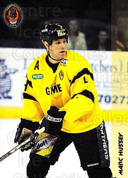 2002-03 UK British Elite Nottingham Panthers #3 Marc Hussey<br/>4 In Stock - $2.00 each - <a href=https://centericecollectibles.foxycart.com/cart?name=2002-03%20UK%20British%20Elite%20Nottingham%20Panthers%20%233%20Marc%20Hussey...&price=$2.00&code=109184 class=foxycart> Buy it now! </a>