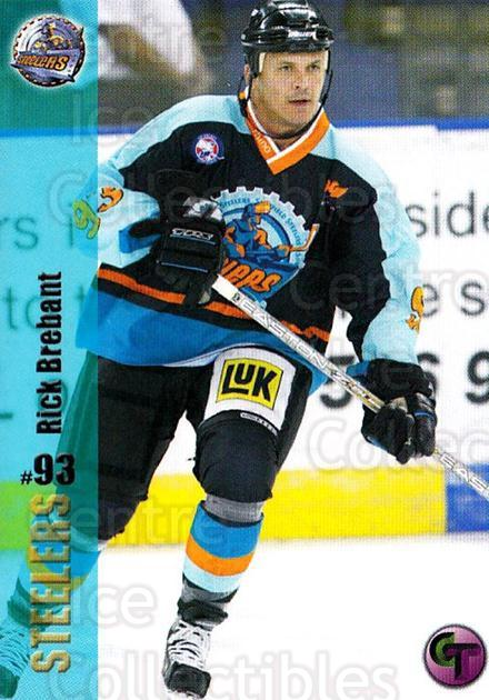 2002-03 UK British Elite Sheffield Steelers #3 Rick Brebant<br/>6 In Stock - $3.00 each - <a href=https://centericecollectibles.foxycart.com/cart?name=2002-03%20UK%20British%20Elite%20Sheffield%20Steelers%20%233%20Rick%20Brebant...&quantity_max=6&price=$3.00&code=109215 class=foxycart> Buy it now! </a>