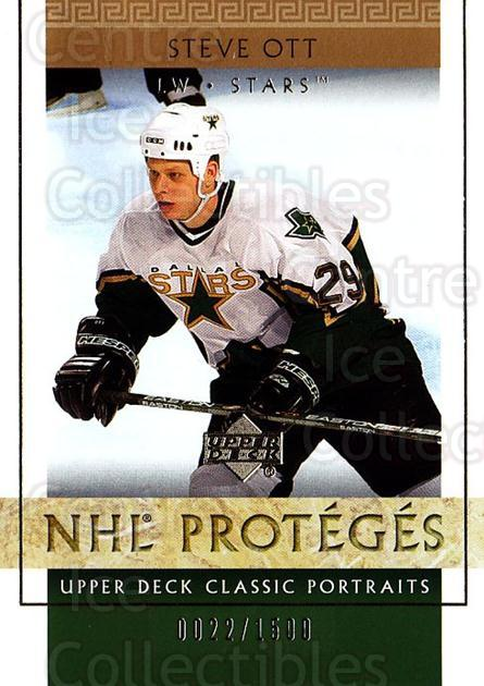 2002-03 UD Classic Portraits #133 Steve Ott<br/>5 In Stock - $3.00 each - <a href=https://centericecollectibles.foxycart.com/cart?name=2002-03%20UD%20Classic%20Portraits%20%23133%20Steve%20Ott...&quantity_max=5&price=$3.00&code=109254 class=foxycart> Buy it now! </a>