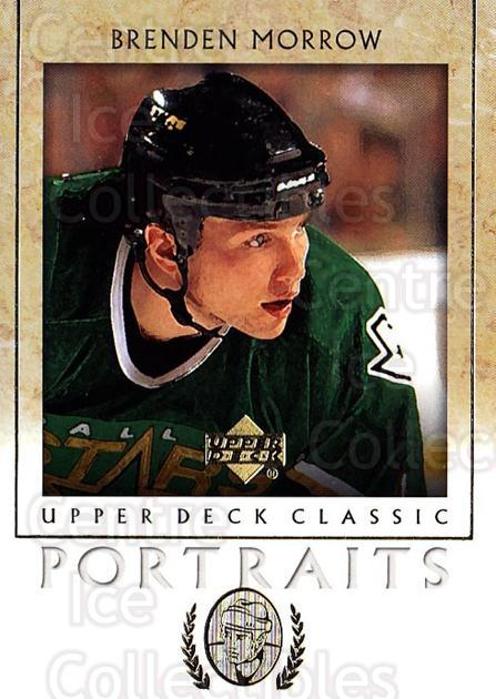 2002-03 UD Classic Portraits #32 Brenden Morrow<br/>6 In Stock - $1.00 each - <a href=https://centericecollectibles.foxycart.com/cart?name=2002-03%20UD%20Classic%20Portraits%20%2332%20Brenden%20Morrow...&quantity_max=6&price=$1.00&code=109274 class=foxycart> Buy it now! </a>