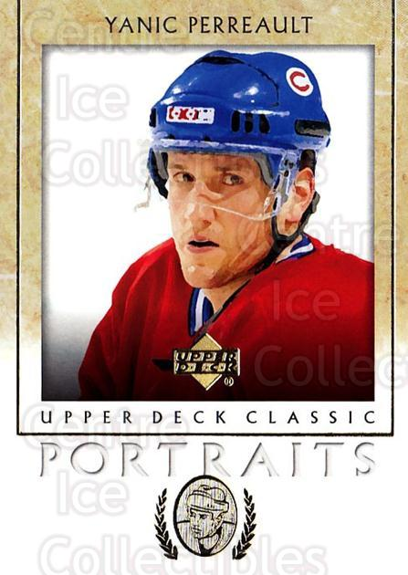 2002-03 UD Classic Portraits #52 Yanic Perreault<br/>4 In Stock - $1.00 each - <a href=https://centericecollectibles.foxycart.com/cart?name=2002-03%20UD%20Classic%20Portraits%20%2352%20Yanic%20Perreault...&quantity_max=4&price=$1.00&code=109294 class=foxycart> Buy it now! </a>