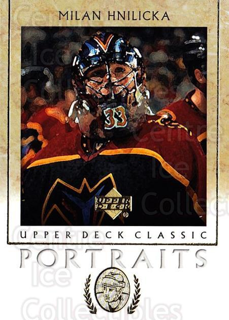 2002-03 UD Classic Portraits #6 Milan Hnilicka<br/>6 In Stock - $1.00 each - <a href=https://centericecollectibles.foxycart.com/cart?name=2002-03%20UD%20Classic%20Portraits%20%236%20Milan%20Hnilicka...&quantity_max=6&price=$1.00&code=109302 class=foxycart> Buy it now! </a>