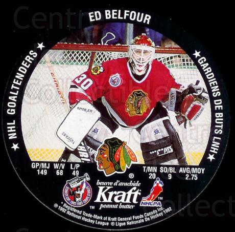 1992-93 Kraft Peanut Butter Discs #12 Mike Vernon, Ed Belfour<br/>4 In Stock - $2.00 each - <a href=https://centericecollectibles.foxycart.com/cart?name=1992-93%20Kraft%20Peanut%20Butter%20Discs%20%2312%20Mike%20Vernon,%20Ed...&price=$2.00&code=10937 class=foxycart> Buy it now! </a>