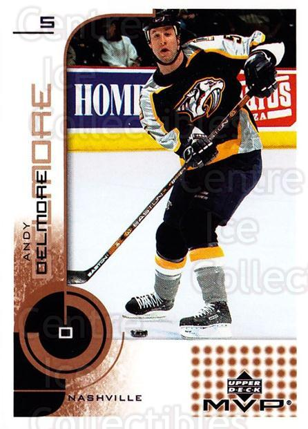2002-03 Upper Deck MVP #105 Andy Delmore<br/>2 In Stock - $1.00 each - <a href=https://centericecollectibles.foxycart.com/cart?name=2002-03%20Upper%20Deck%20MVP%20%23105%20Andy%20Delmore...&quantity_max=2&price=$1.00&code=109697 class=foxycart> Buy it now! </a>