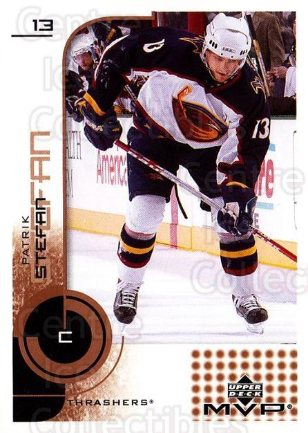 2002-03 Upper Deck MVP #11 Patrik Stefan<br/>8 In Stock - $1.00 each - <a href=https://centericecollectibles.foxycart.com/cart?name=2002-03%20Upper%20Deck%20MVP%20%2311%20Patrik%20Stefan...&quantity_max=8&price=$1.00&code=109702 class=foxycart> Buy it now! </a>
