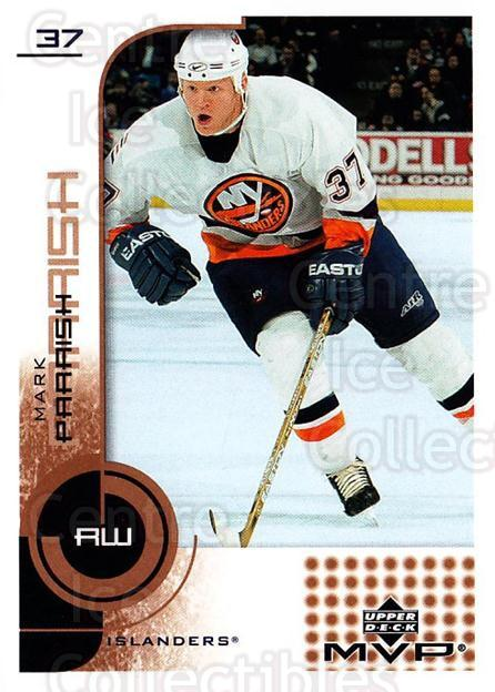 2002-03 Upper Deck MVP #113 Mark Parrish<br/>6 In Stock - $1.00 each - <a href=https://centericecollectibles.foxycart.com/cart?name=2002-03%20Upper%20Deck%20MVP%20%23113%20Mark%20Parrish...&quantity_max=6&price=$1.00&code=109706 class=foxycart> Buy it now! </a>