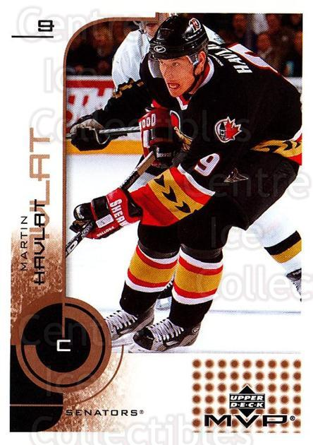 2002-03 Upper Deck MVP #128 Martin Havlat<br/>6 In Stock - $1.00 each - <a href=https://centericecollectibles.foxycart.com/cart?name=2002-03%20Upper%20Deck%20MVP%20%23128%20Martin%20Havlat...&quantity_max=6&price=$1.00&code=109722 class=foxycart> Buy it now! </a>