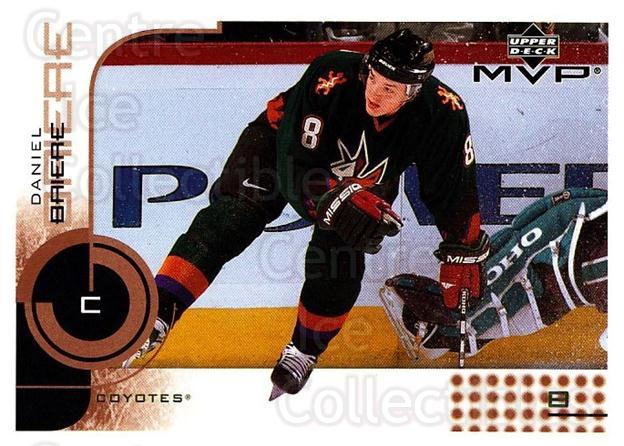 2002-03 Upper Deck MVP #140 Daniel Briere<br/>7 In Stock - $1.00 each - <a href=https://centericecollectibles.foxycart.com/cart?name=2002-03%20Upper%20Deck%20MVP%20%23140%20Daniel%20Briere...&quantity_max=7&price=$1.00&code=109736 class=foxycart> Buy it now! </a>