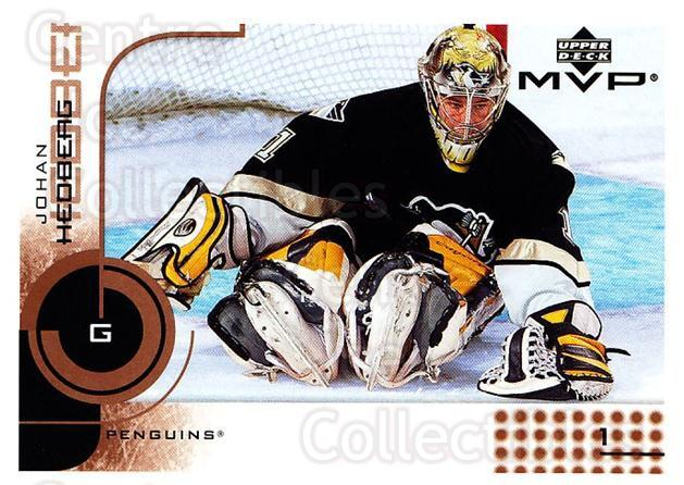 2002-03 Upper Deck MVP #146 Johan Hedberg<br/>5 In Stock - $1.00 each - <a href=https://centericecollectibles.foxycart.com/cart?name=2002-03%20Upper%20Deck%20MVP%20%23146%20Johan%20Hedberg...&quantity_max=5&price=$1.00&code=109742 class=foxycart> Buy it now! </a>