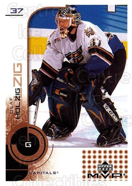 2002-03 Upper Deck MVP #186 Olaf Kolzig<br/>5 In Stock - $1.00 each - <a href=https://centericecollectibles.foxycart.com/cart?name=2002-03%20Upper%20Deck%20MVP%20%23186%20Olaf%20Kolzig...&quantity_max=5&price=$1.00&code=109785 class=foxycart> Buy it now! </a>