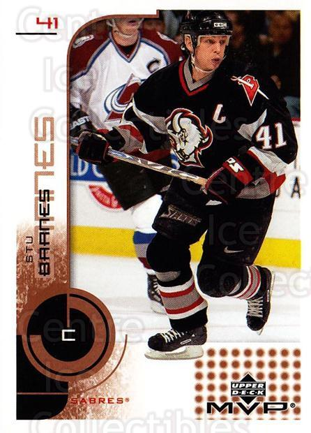 2002-03 Upper Deck MVP #19 Stu Barnes<br/>6 In Stock - $1.00 each - <a href=https://centericecollectibles.foxycart.com/cart?name=2002-03%20Upper%20Deck%20MVP%20%2319%20Stu%20Barnes...&quantity_max=6&price=$1.00&code=109788 class=foxycart> Buy it now! </a>