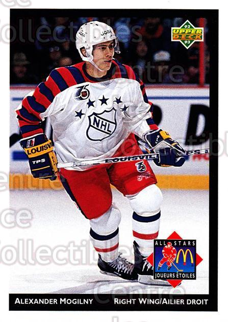 1992-93 McDonalds Upper Deck #22 Alexander Mogilny<br/>10 In Stock - $1.00 each - <a href=https://centericecollectibles.foxycart.com/cart?name=1992-93%20McDonalds%20Upper%20Deck%20%2322%20Alexander%20Mogil...&quantity_max=10&price=$1.00&code=10978 class=foxycart> Buy it now! </a>