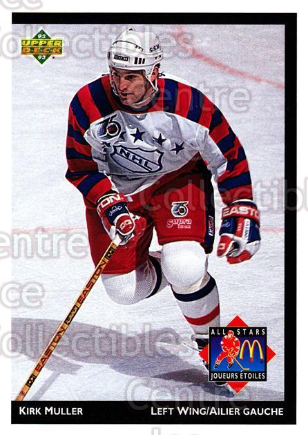 1992-93 McDonalds Upper Deck #23 Kirk Muller<br/>11 In Stock - $1.00 each - <a href=https://centericecollectibles.foxycart.com/cart?name=1992-93%20McDonalds%20Upper%20Deck%20%2323%20Kirk%20Muller...&quantity_max=11&price=$1.00&code=10979 class=foxycart> Buy it now! </a>