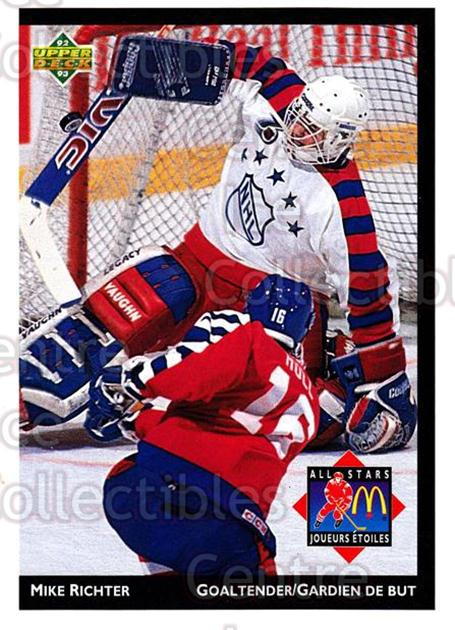1992-93 McDonalds Upper Deck #25 Mike Richter<br/>10 In Stock - $1.00 each - <a href=https://centericecollectibles.foxycart.com/cart?name=1992-93%20McDonalds%20Upper%20Deck%20%2325%20Mike%20Richter...&quantity_max=10&price=$1.00&code=10981 class=foxycart> Buy it now! </a>