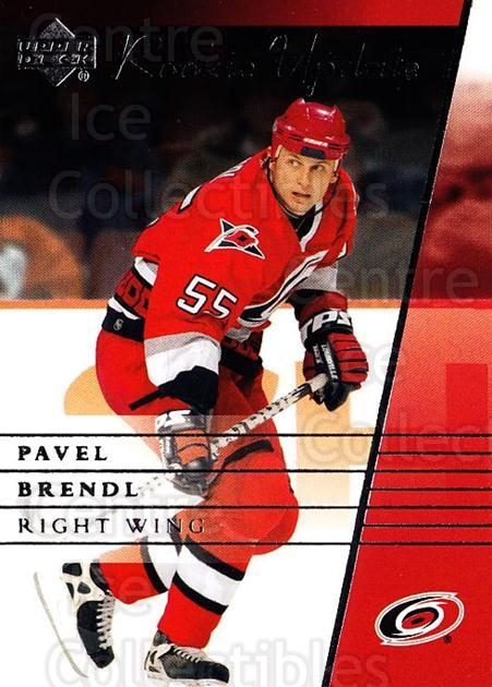 2002-03 Upper Deck Rookie Update #19 Pavel Brendl<br/>4 In Stock - $1.00 each - <a href=https://centericecollectibles.foxycart.com/cart?name=2002-03%20Upper%20Deck%20Rookie%20Update%20%2319%20Pavel%20Brendl...&quantity_max=4&price=$1.00&code=109888 class=foxycart> Buy it now! </a>