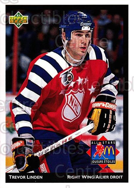 1992-93 McDonalds Upper Deck #9 Trevor Linden<br/>9 In Stock - $1.00 each - <a href=https://centericecollectibles.foxycart.com/cart?name=1992-93%20McDonalds%20Upper%20Deck%20%239%20Trevor%20Linden...&quantity_max=9&price=$1.00&code=10990 class=foxycart> Buy it now! </a>