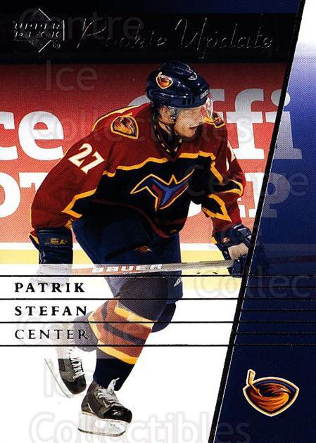2002-03 Upper Deck Rookie Update #7 Patrik Stefan<br/>11 In Stock - $1.00 each - <a href=https://centericecollectibles.foxycart.com/cart?name=2002-03%20Upper%20Deck%20Rookie%20Update%20%237%20Patrik%20Stefan...&quantity_max=11&price=$1.00&code=109940 class=foxycart> Buy it now! </a>