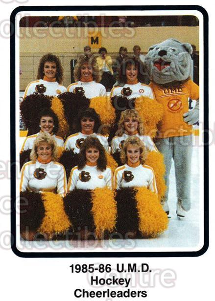 1985-86 Minnesota-Duluth Bulldogs #35 Mascot<br/>12 In Stock - $3.00 each - <a href=https://centericecollectibles.foxycart.com/cart?name=1985-86%20Minnesota-Duluth%20Bulldogs%20%2335%20Mascot...&quantity_max=12&price=$3.00&code=109 class=foxycart> Buy it now! </a>