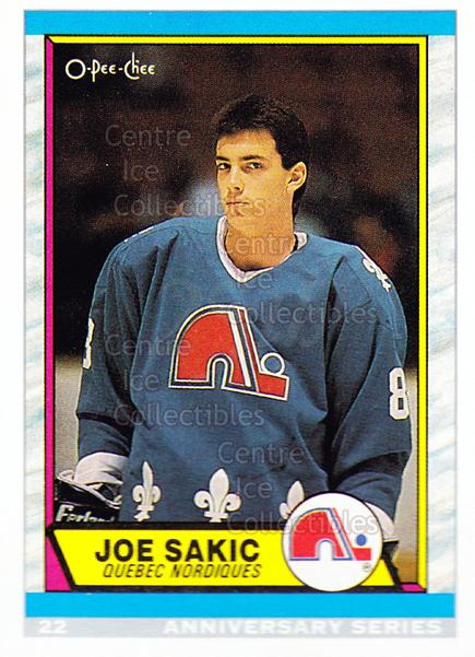 1992-93 O-Pee-Chee 25th Anniversary Inserts #22 Joe Sakic<br/>17 In Stock - $1.00 each - <a href=https://centericecollectibles.foxycart.com/cart?name=1992-93%20O-Pee-Chee%2025th%20Anniversary%20Inserts%20%2322%20Joe%20Sakic...&price=$1.00&code=11007 class=foxycart> Buy it now! </a>