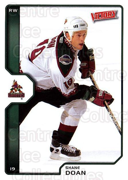 2002-03 UD Victory #165 Shane Doan<br/>7 In Stock - $1.00 each - <a href=https://centericecollectibles.foxycart.com/cart?name=2002-03%20UD%20Victory%20%23165%20Shane%20Doan...&quantity_max=7&price=$1.00&code=110096 class=foxycart> Buy it now! </a>