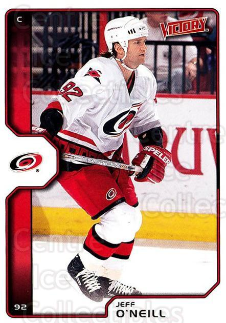 2002-03 UD Victory #37 Jeff O'Neill<br/>4 In Stock - $1.00 each - <a href=https://centericecollectibles.foxycart.com/cart?name=2002-03%20UD%20Victory%20%2337%20Jeff%20O'Neill...&quantity_max=4&price=$1.00&code=110156 class=foxycart> Buy it now! </a>