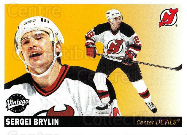 2002-03 UD Vintage #147 Sergei Brylin<br/>12 In Stock - $1.00 each - <a href=https://centericecollectibles.foxycart.com/cart?name=2002-03%20UD%20Vintage%20%23147%20Sergei%20Brylin...&quantity_max=12&price=$1.00&code=110207 class=foxycart> Buy it now! </a>