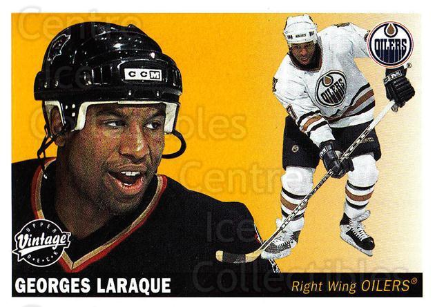 2002-03 UD Vintage #103 Georges Laraque<br/>8 In Stock - $1.00 each - <a href=https://centericecollectibles.foxycart.com/cart?name=2002-03%20UD%20Vintage%20%23103%20Georges%20Laraque...&quantity_max=8&price=$1.00&code=110220 class=foxycart> Buy it now! </a>
