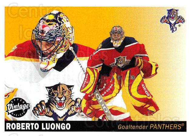 2002-03 UD Vintage #111 Roberto Luongo<br/>7 In Stock - $2.00 each - <a href=https://centericecollectibles.foxycart.com/cart?name=2002-03%20UD%20Vintage%20%23111%20Roberto%20Luongo...&quantity_max=7&price=$2.00&code=110229 class=foxycart> Buy it now! </a>