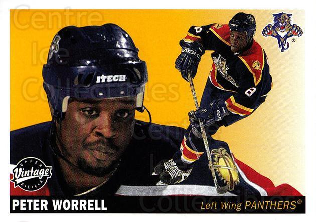 2002-03 UD Vintage #112 Peter Worrell<br/>7 In Stock - $1.00 each - <a href=https://centericecollectibles.foxycart.com/cart?name=2002-03%20UD%20Vintage%20%23112%20Peter%20Worrell...&quantity_max=7&price=$1.00&code=110230 class=foxycart> Buy it now! </a>