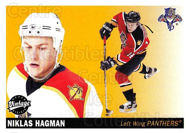 2002-03 UD Vintage #113 Niklas Hagman<br/>6 In Stock - $1.00 each - <a href=https://centericecollectibles.foxycart.com/cart?name=2002-03%20UD%20Vintage%20%23113%20Niklas%20Hagman...&quantity_max=6&price=$1.00&code=110231 class=foxycart> Buy it now! </a>