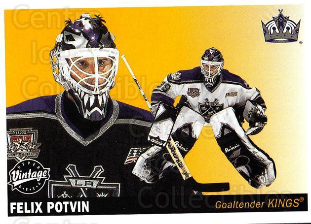 2002-03 UD Vintage #119 Felix Potvin<br/>7 In Stock - $1.00 each - <a href=https://centericecollectibles.foxycart.com/cart?name=2002-03%20UD%20Vintage%20%23119%20Felix%20Potvin...&quantity_max=7&price=$1.00&code=110237 class=foxycart> Buy it now! </a>