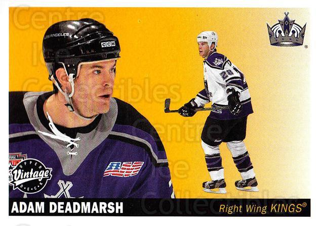 2002-03 UD Vintage #121 Adam Deadmarsh<br/>9 In Stock - $1.00 each - <a href=https://centericecollectibles.foxycart.com/cart?name=2002-03%20UD%20Vintage%20%23121%20Adam%20Deadmarsh...&quantity_max=9&price=$1.00&code=110240 class=foxycart> Buy it now! </a>
