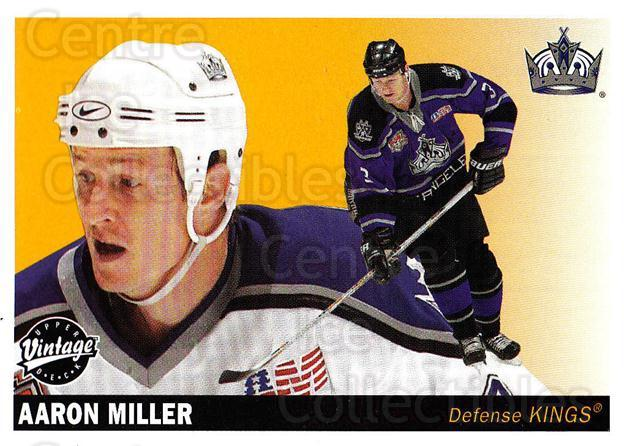 2002-03 UD Vintage #122 Aaron Miller<br/>8 In Stock - $1.00 each - <a href=https://centericecollectibles.foxycart.com/cart?name=2002-03%20UD%20Vintage%20%23122%20Aaron%20Miller...&quantity_max=8&price=$1.00&code=110241 class=foxycart> Buy it now! </a>