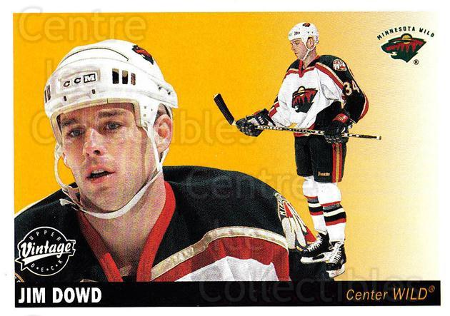 2002-03 UD Vintage #126 Jim Dowd<br/>5 In Stock - $1.00 each - <a href=https://centericecollectibles.foxycart.com/cart?name=2002-03%20UD%20Vintage%20%23126%20Jim%20Dowd...&quantity_max=5&price=$1.00&code=110244 class=foxycart> Buy it now! </a>
